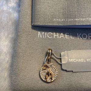☘️NWT MICHAEL KORS Rose Gold 925 Charm☘️